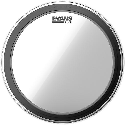 Evans GMAD Clear Batter Bass Drumhead thumbnail