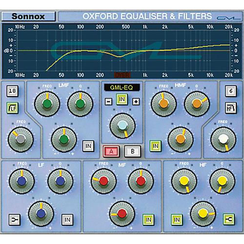 Sonnox GML Option for Oxford EQ (HD-HDX) thumbnail