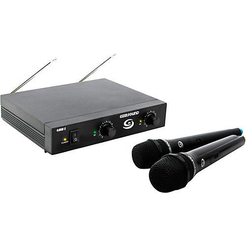 Gem Sound GMW-2 Dual-Channel Wireless Mic System thumbnail