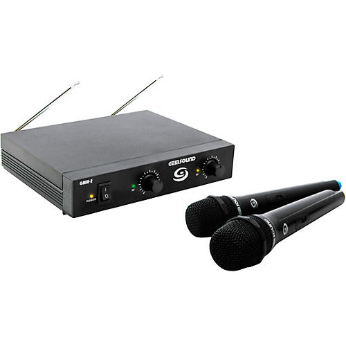 Gem Sound GMW-2 Dual-Channel Wireless Mic System thumbnail