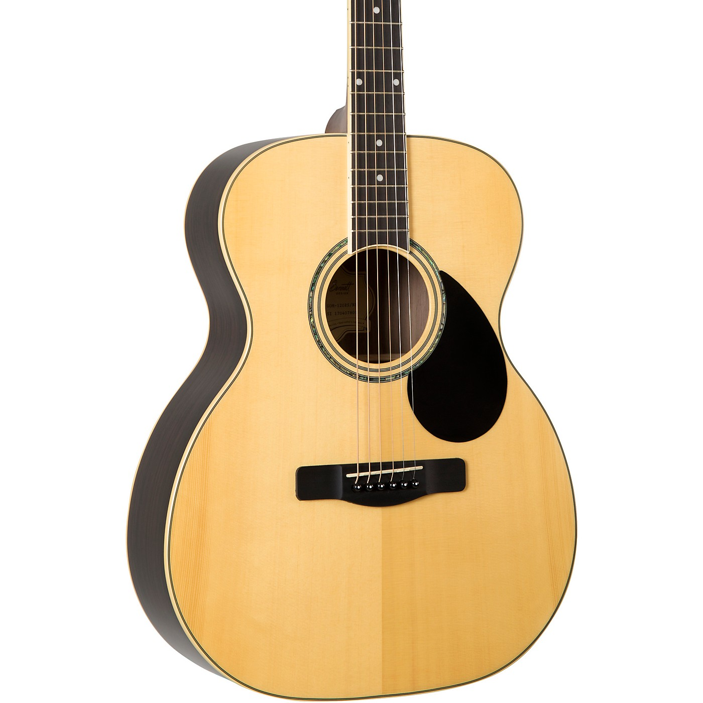 Greg Bennett Design by Samick GOM-120RS Orchestra Solid Spruce Top Acoustic Guitar thumbnail
