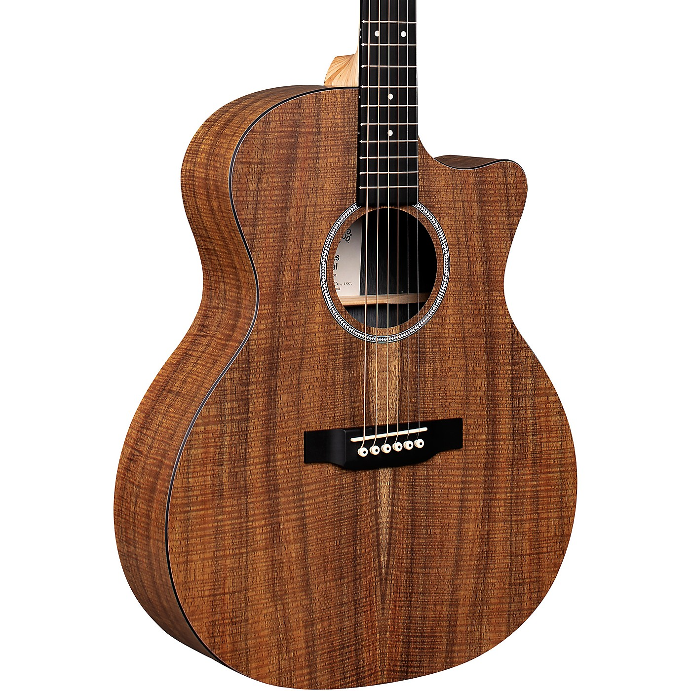 Martin GPC Special Koa X Series Grand Performance Acoustic-Electric Guitar thumbnail