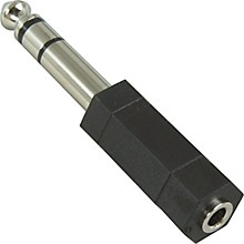 "Hosa GPM-103 Stereo Mini Female-Stereo 1/4"" Male Adapter"