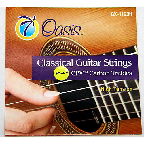 Oasis GPX+ Classical Guitar Carbon Trebles High Tension thumbnail
