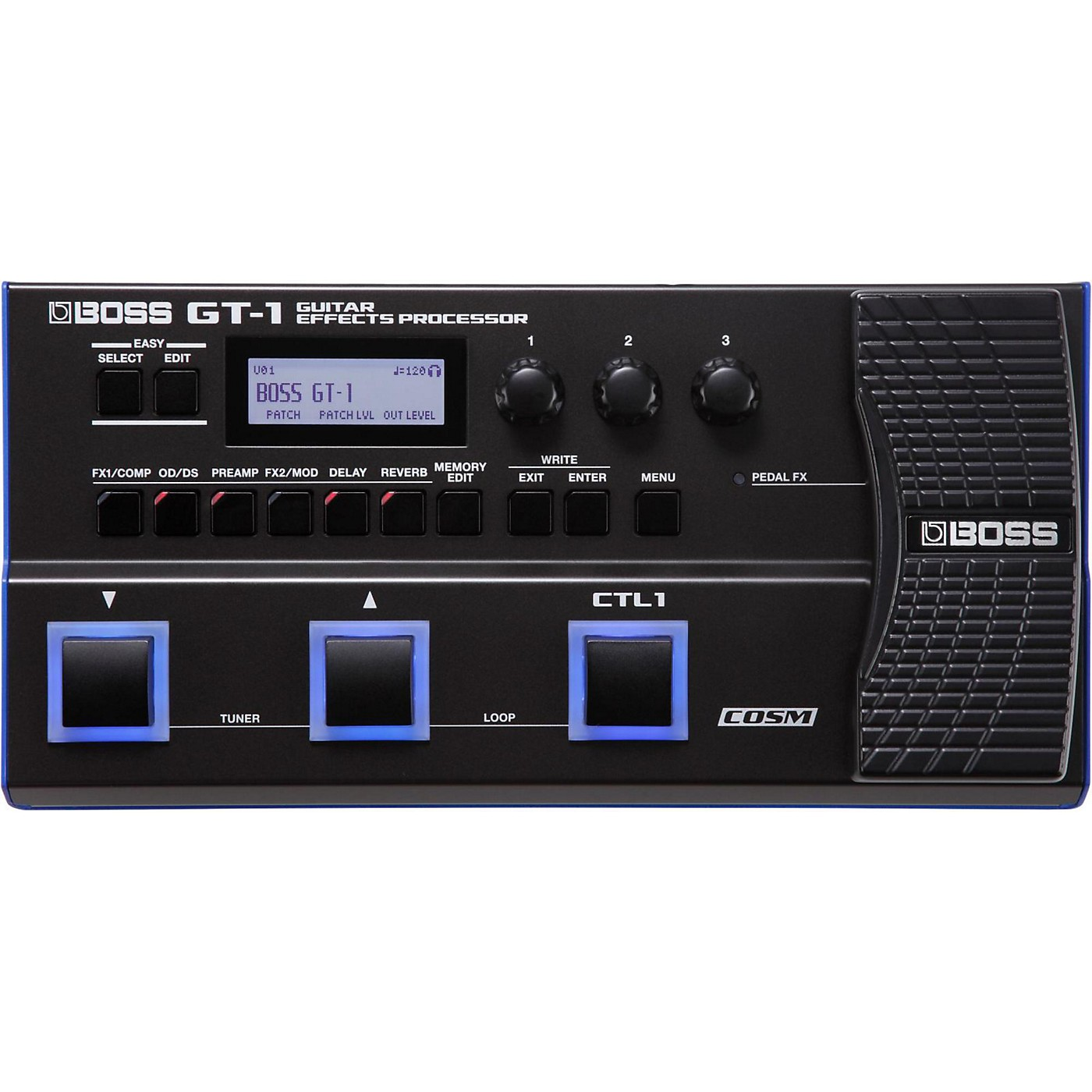 Boss GT-1 Guitar Multi-Effects Processor thumbnail