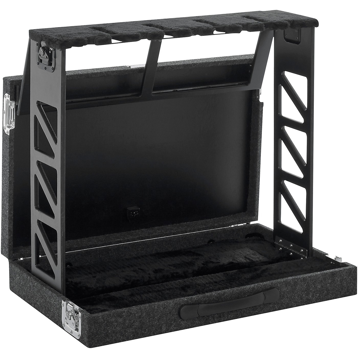 Gator GTRSTD4 Compact Rack Style Four (4) Guitar Stand that Folds Into Case thumbnail