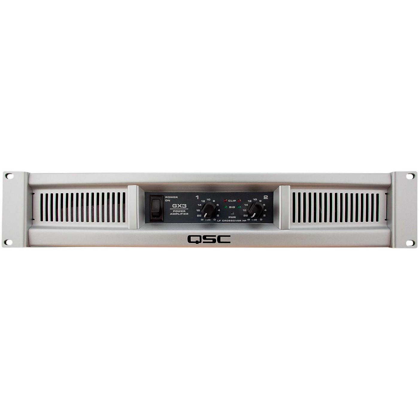 QSC GX3 Stereo Power Amplifier thumbnail