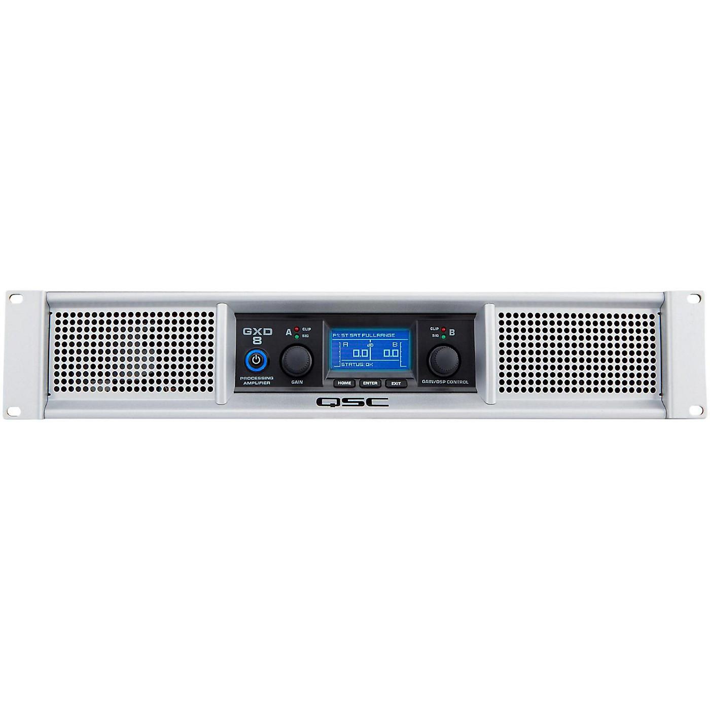 QSC GXD 8 Professional Power Amplifier thumbnail