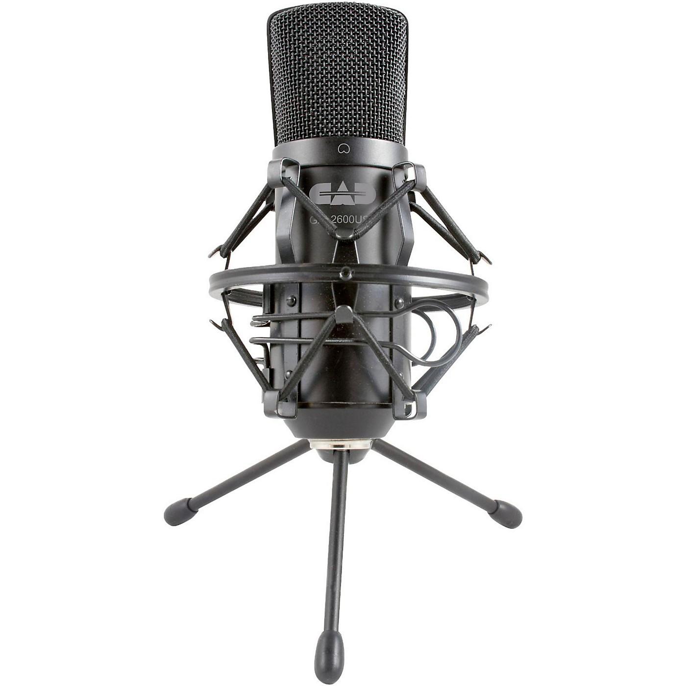 CAD GXL2600USB Large Diaphragm USB Studio Condenser Microphone thumbnail