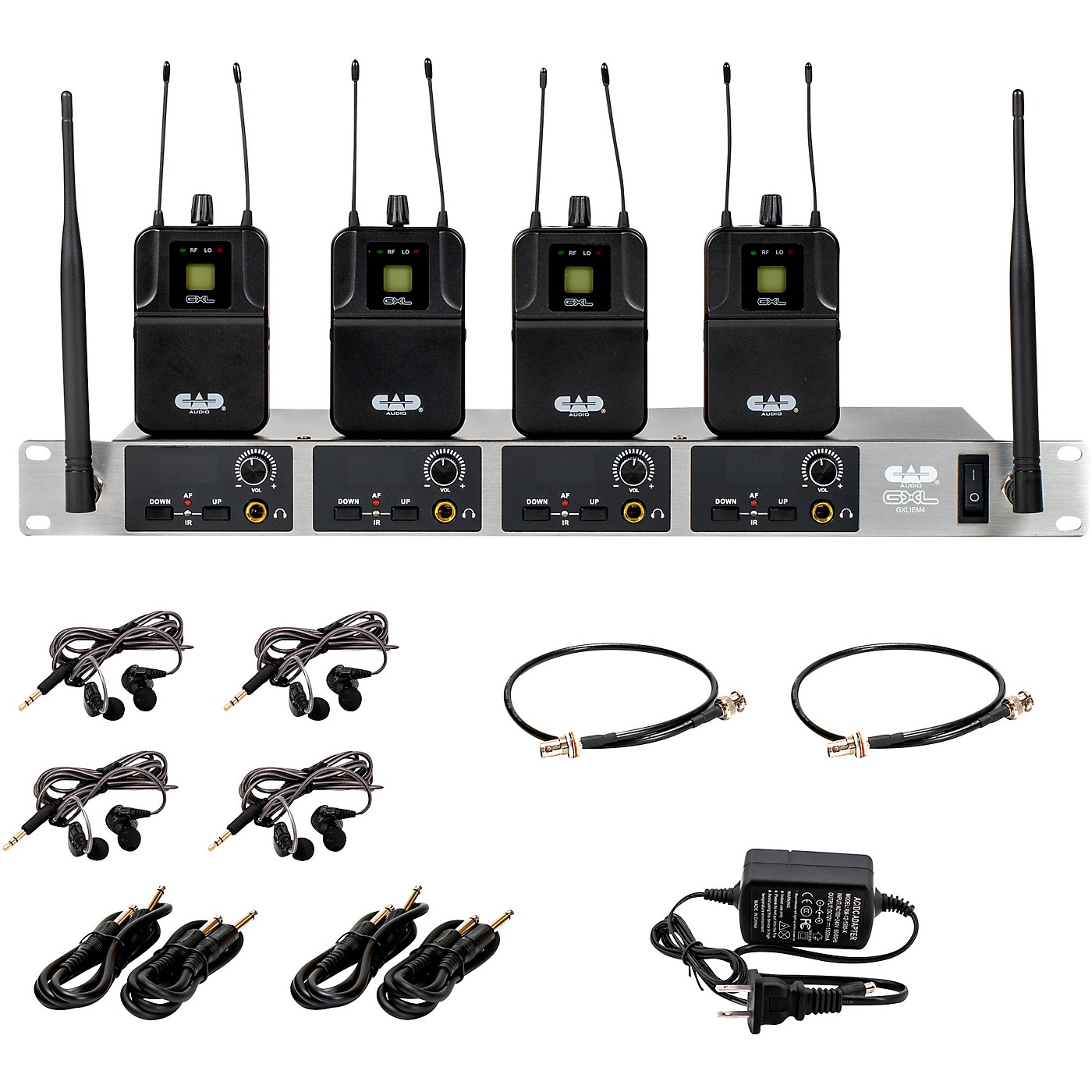 CAD GXLIEM4 Quad Wireless In Ear Monitor System thumbnail