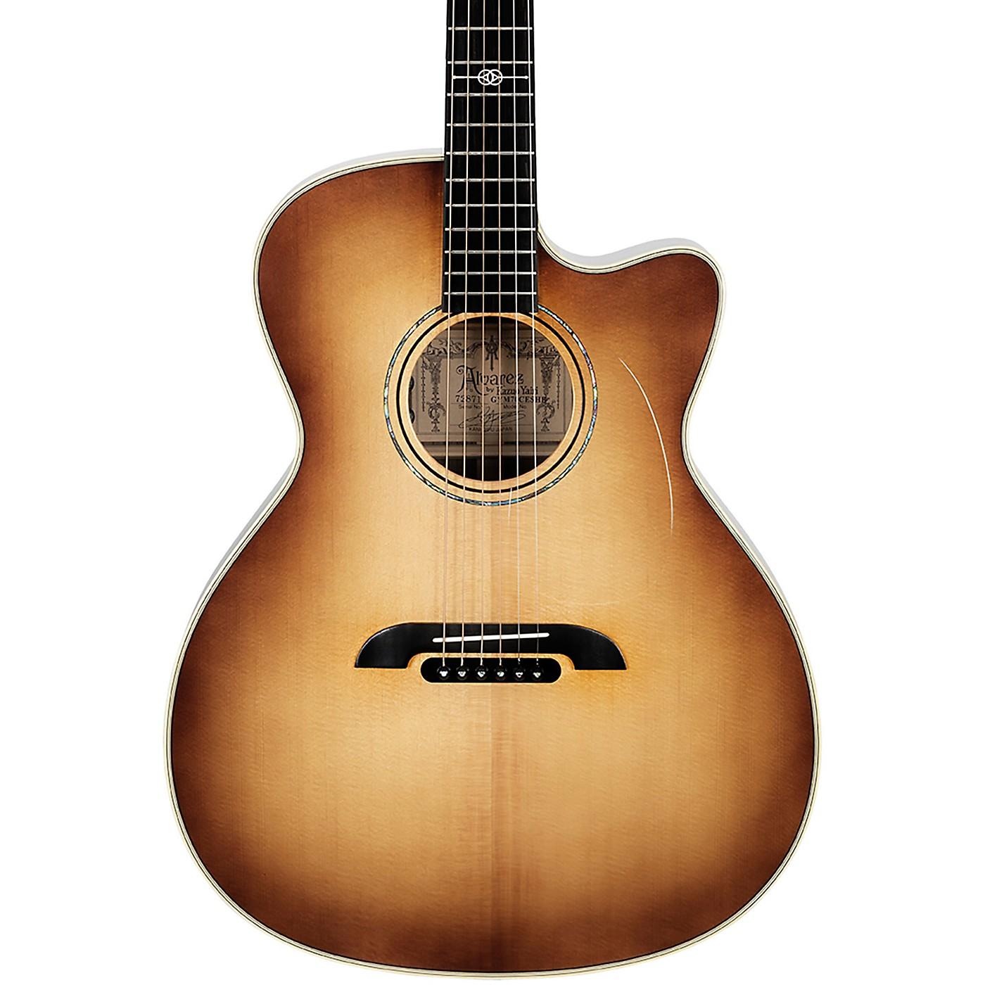 Alvarez GYM70CESHB Yairi Masterworks Grand Auditorium Acoustic/Electric Guitar thumbnail