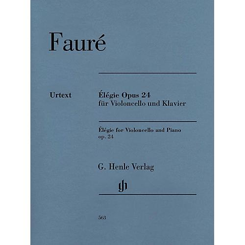 G. Henle Verlag Gabriel Fauré - Élégie for Violoncello and Piano, Op. 24 Henle Music by Fauré Edited by Monnier thumbnail