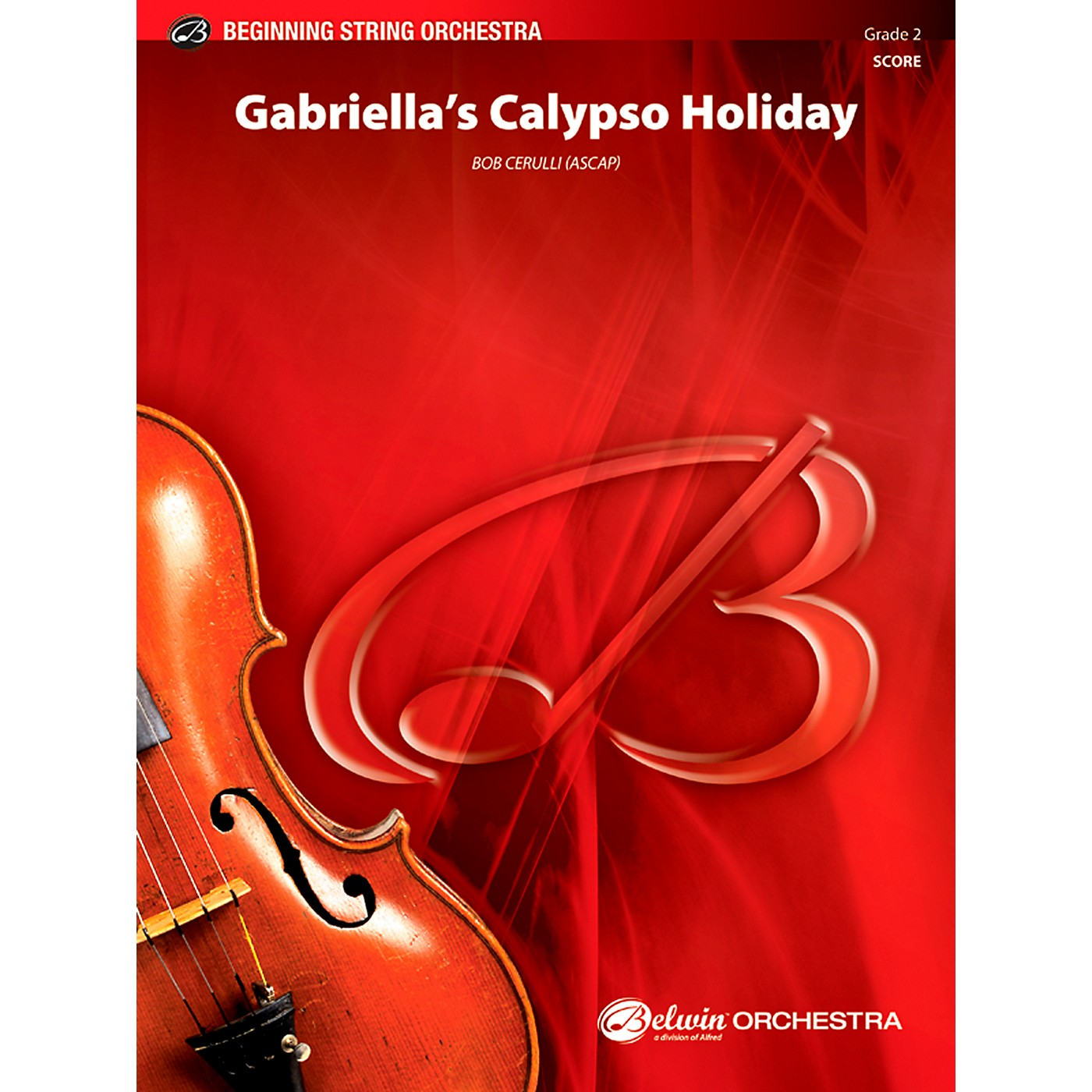 Alfred Gabriella's Calypso Holiday String Orchestra Grade 2 Set thumbnail