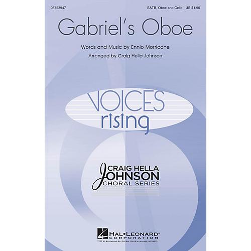 Hal Leonard Gabriel's Oboe SATB OBOE AND CELLO arranged by Craig Hella Johnson thumbnail