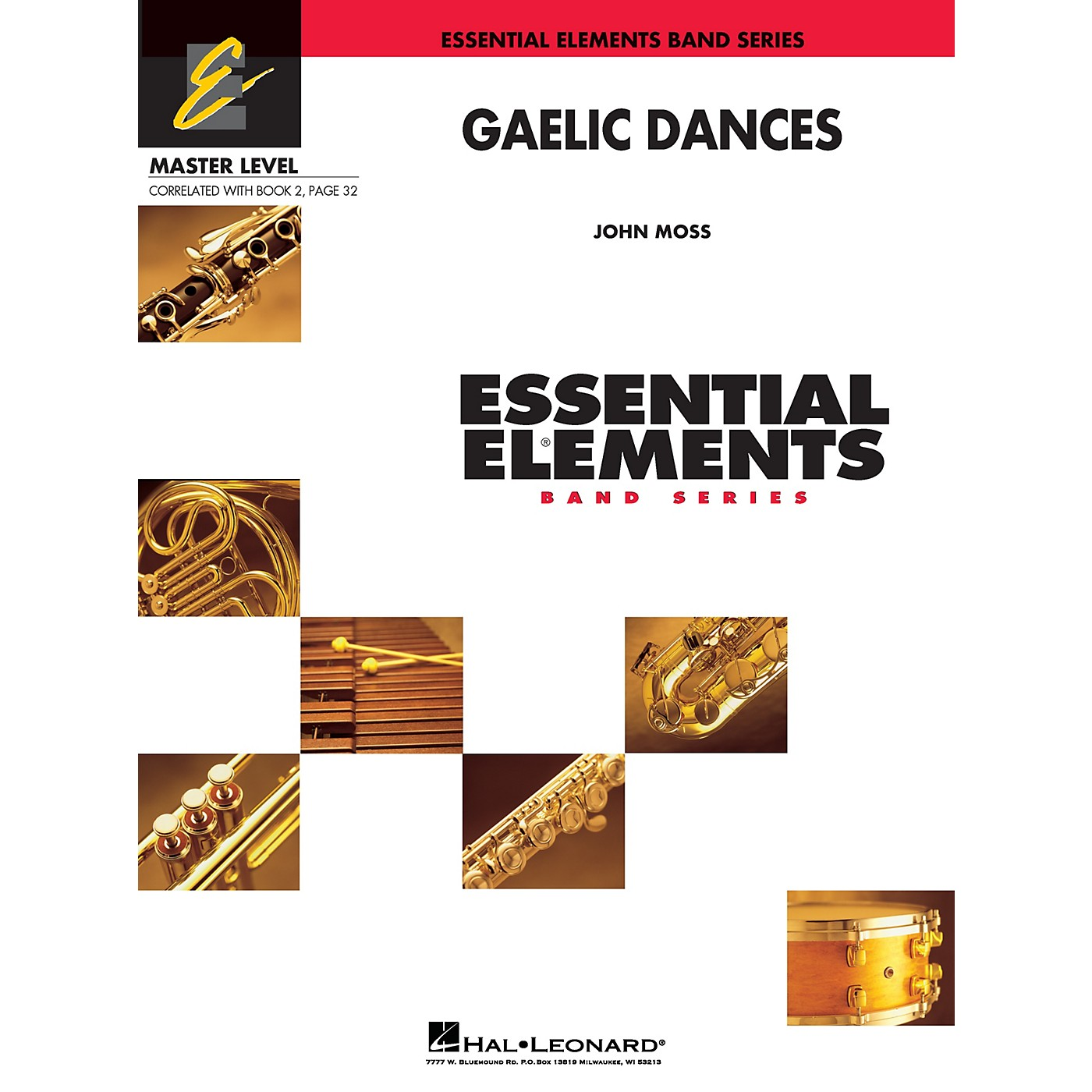 Hal Leonard Gaelic Dances (Includes Full Performance CD) Concert Band Level 2 Composed by John Moss thumbnail