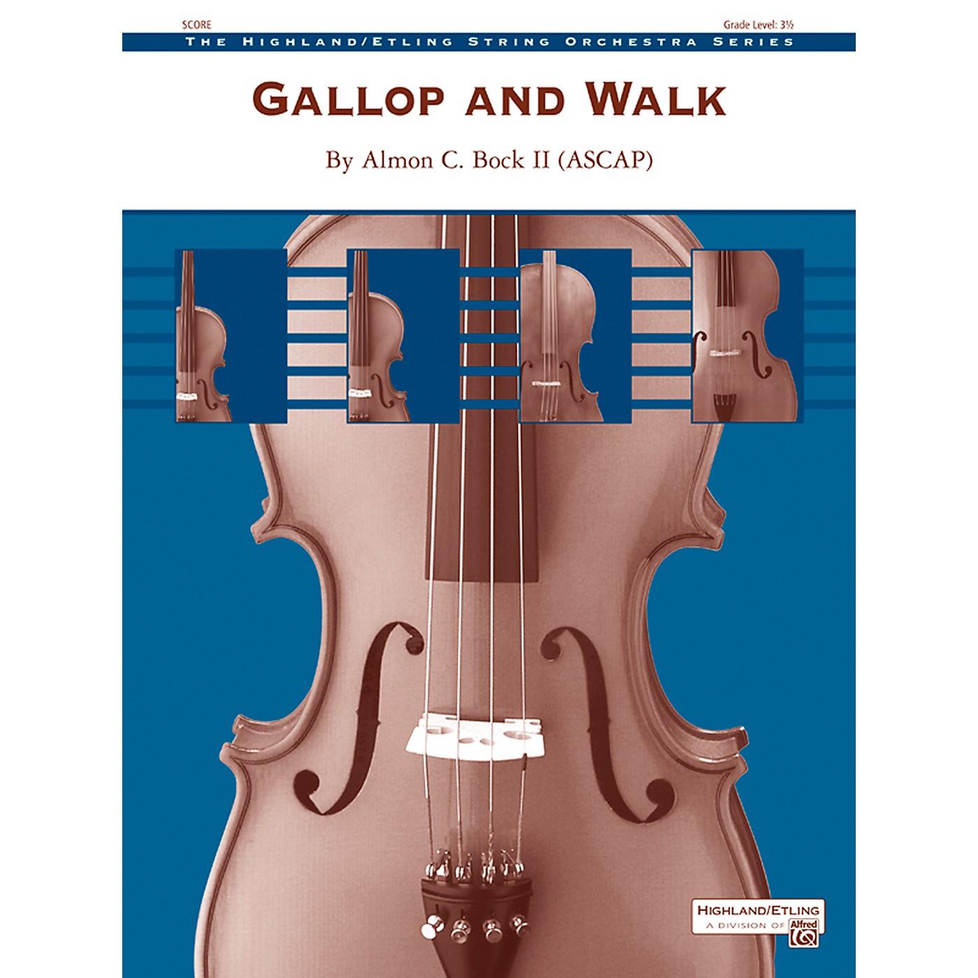Alfred Gallop and Walk String Orchestra Grade 3.5 Set thumbnail
