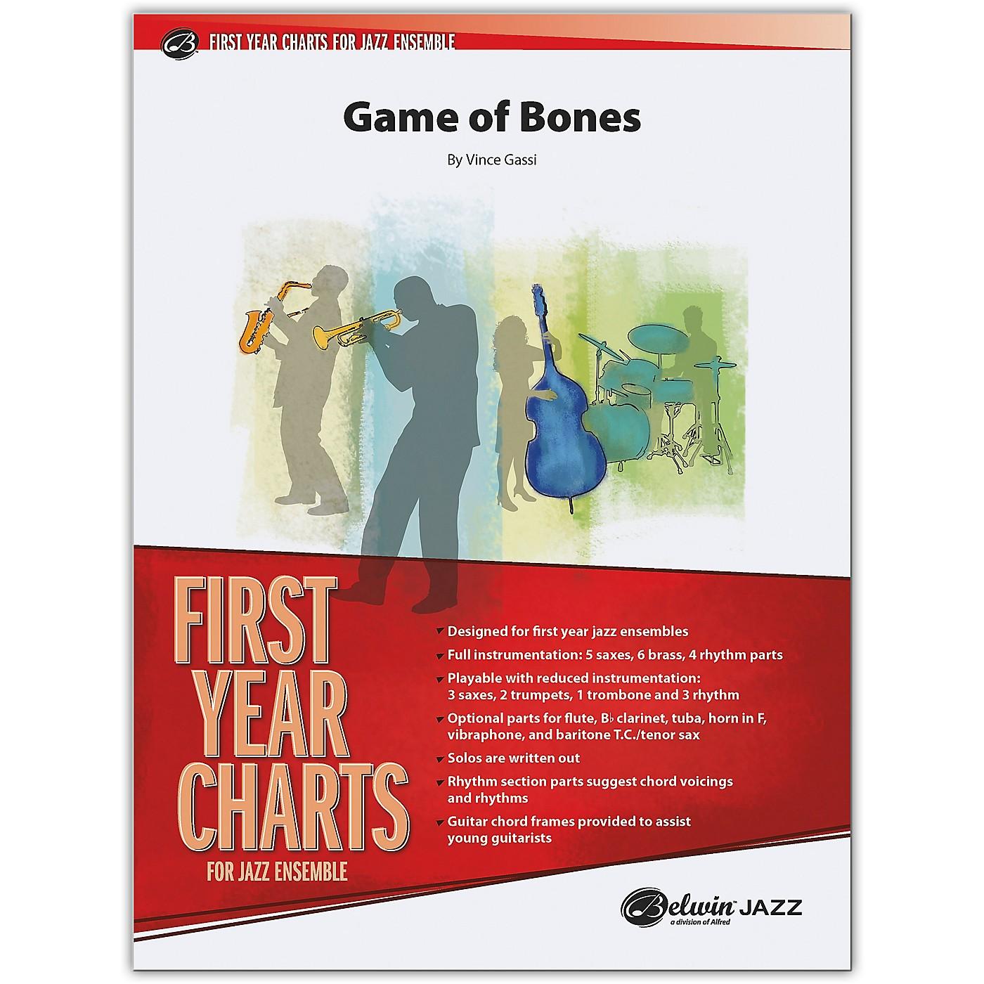 BELWIN Game of Bones Conductor Score 1 (Easy) thumbnail