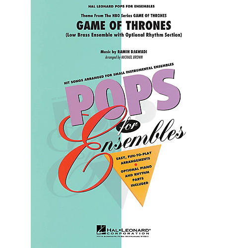Hal Leonard Game of Thrones (Theme) Concert Band Level 2-3 Arranged by Michael Brown thumbnail