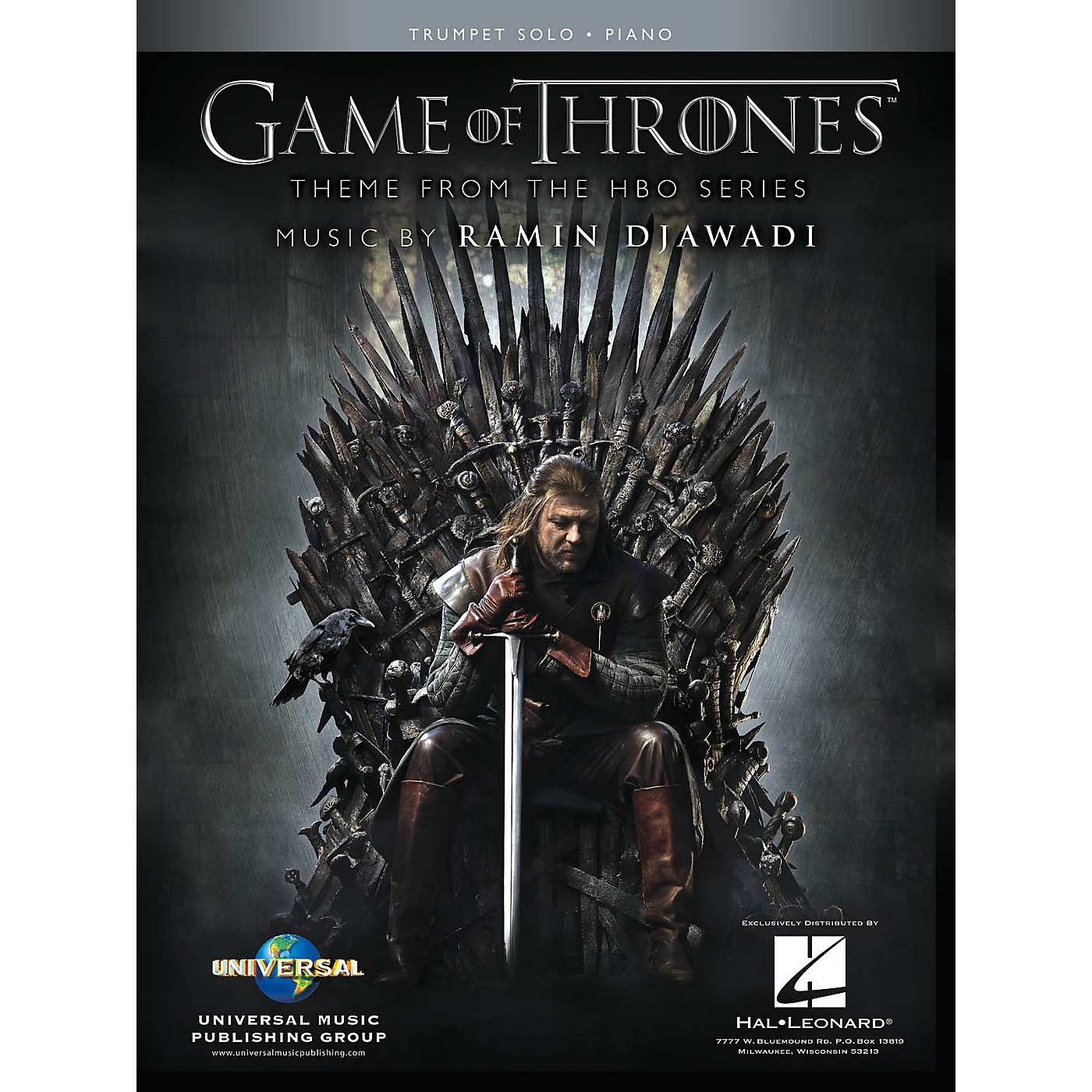 Hal Leonard Game of Thrones for Trumpet & Piano Instrumental Solo Book thumbnail