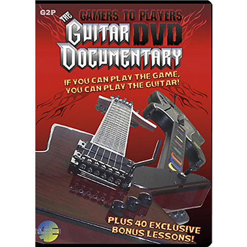 MJS Music Publications Gamers To Players Guitar Documentary DVD plus 40 bonus lessons thumbnail
