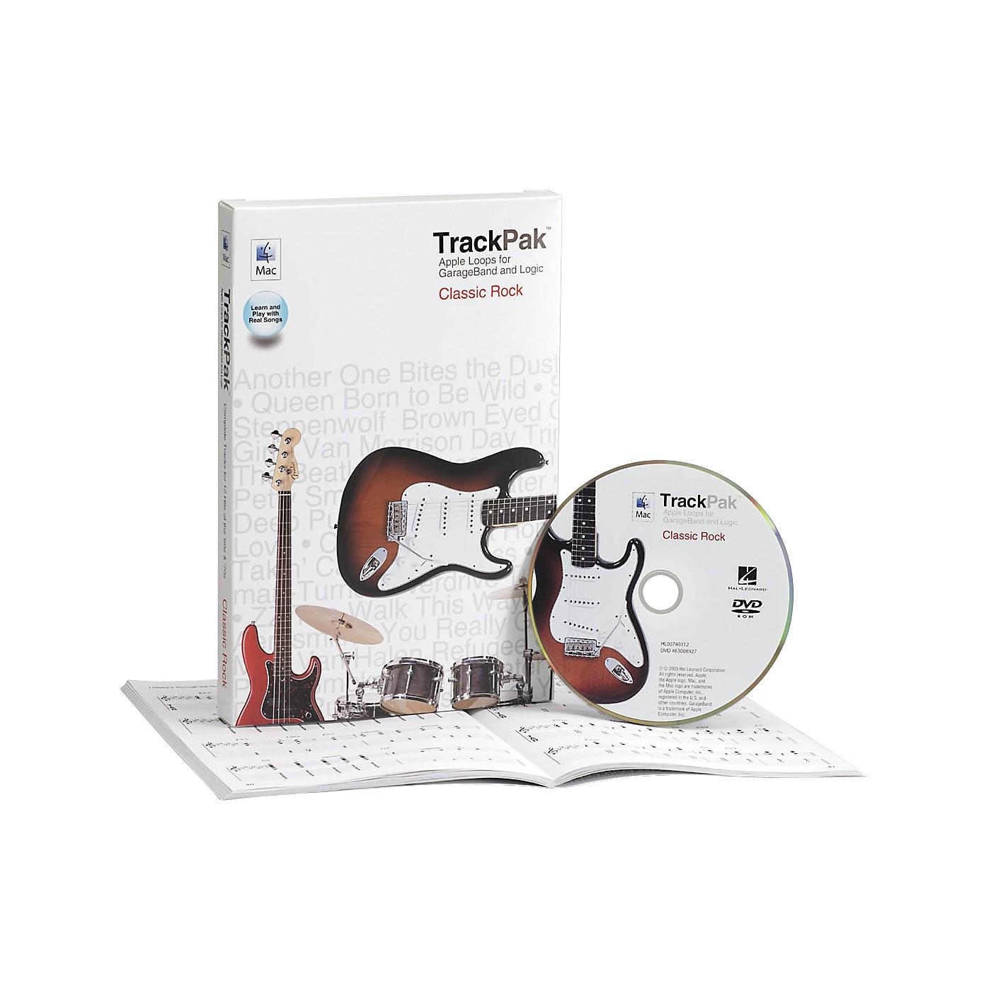 Hal Leonard GarageBand Classic Rock TrackPak (Book/DVD-ROM) thumbnail