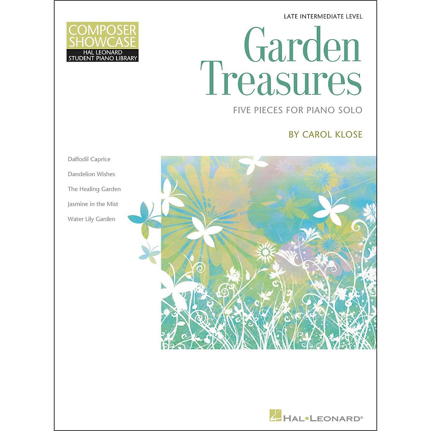 Hal Leonard Garden Treasures - Composer Showcase Intermediate/Late Intermediate Piano Solos Hal Leonard Student Piano Library by Carol Klose thumbnail