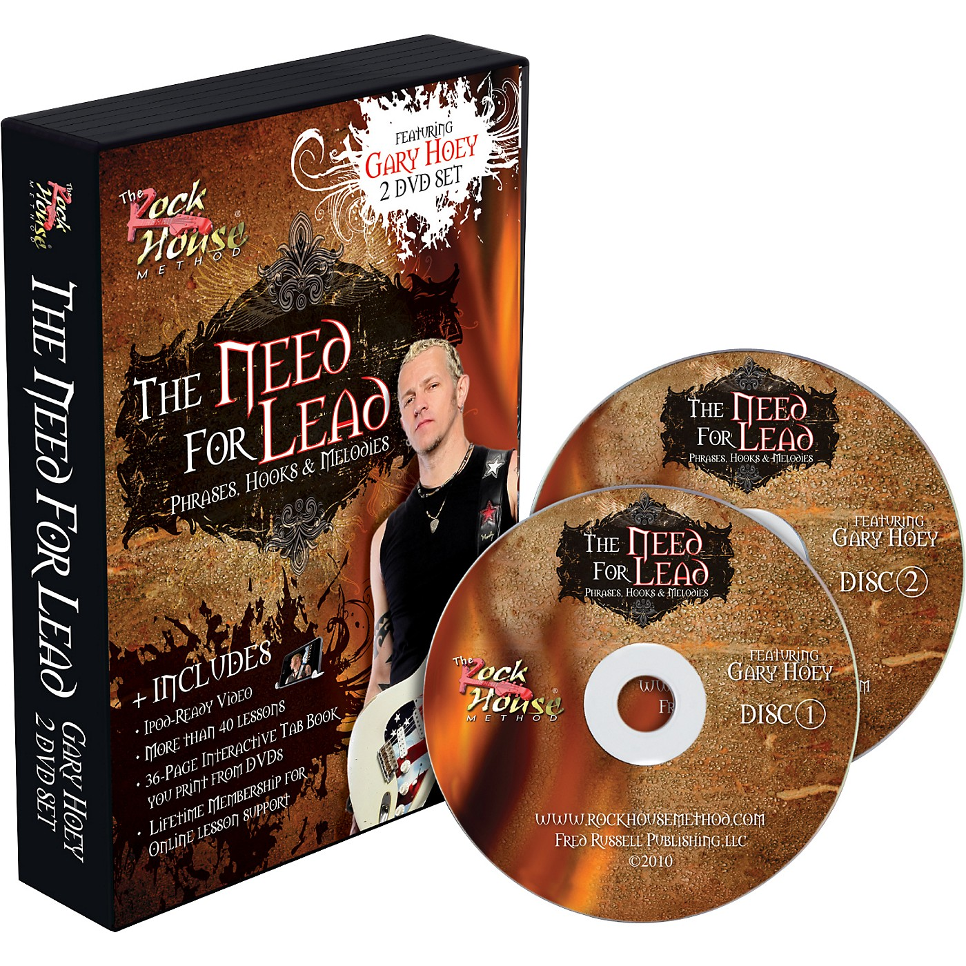 Hal Leonard Gary Hoey: The Need For Lead Phrases, Hooks &  Melodies DVD thumbnail