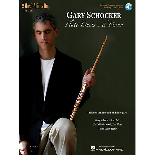 Music Minus One Gary Schocker - Flute Duets with Piano Music Minus One Series Softcover with CD by Gary Schocker thumbnail
