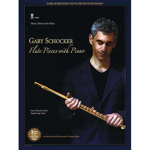 Music Minus One Gary Schocker - Flute Pieces with Piano Music Minus One Series Softcover with CD by Gary Schocker thumbnail