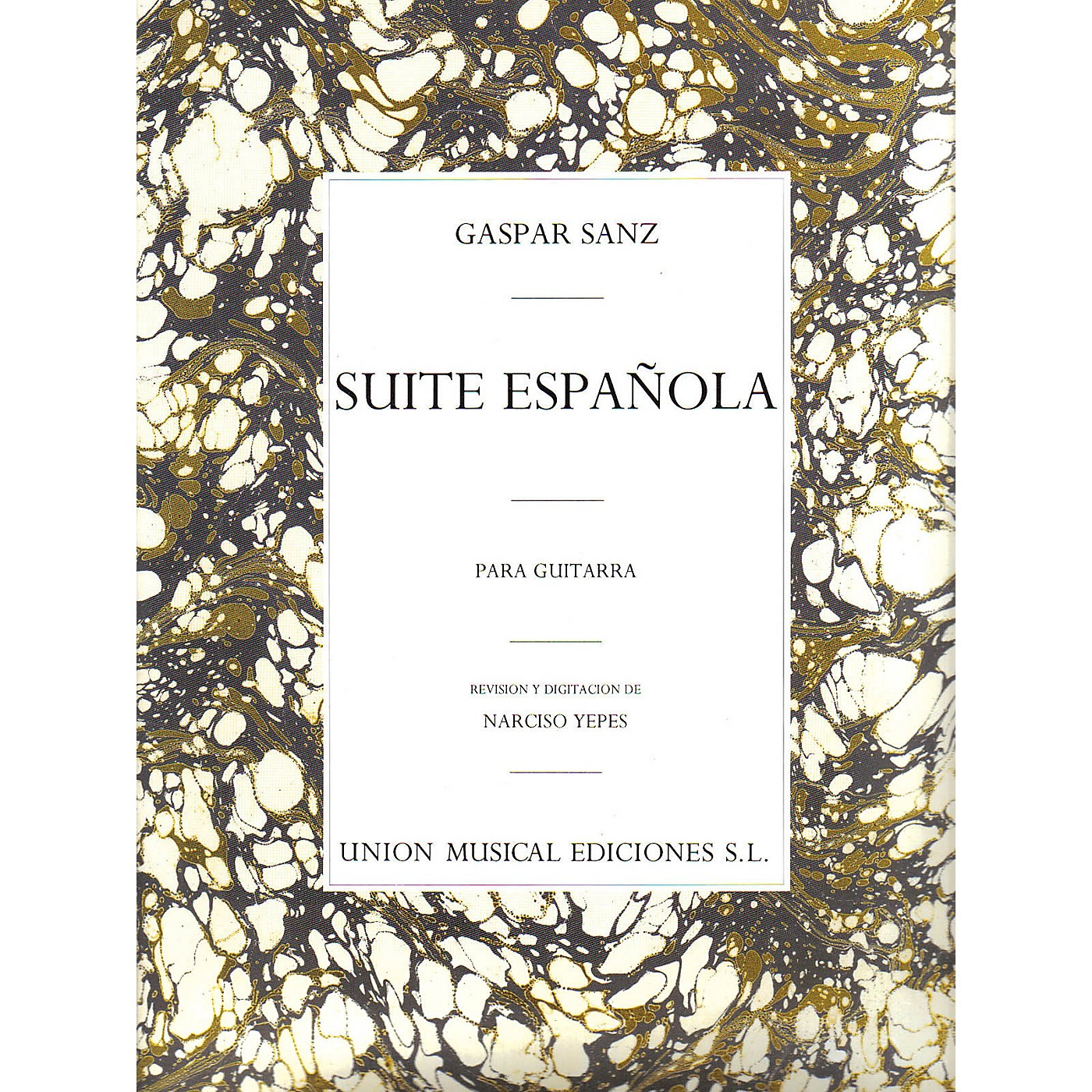 Music Sales Gaspar Sanz: Suite Espanola Music Sales America Series thumbnail