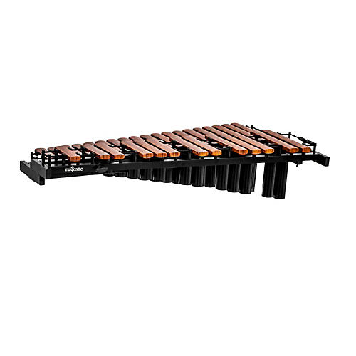 Majestic Gateway Series 2.5 Octave Synthetic Bar Marching/Tabletop Piccolo Xylophone w/ Resonators-thumbnail