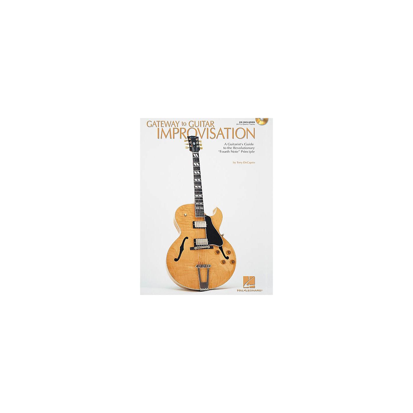 Hal Leonard Gateway to Guitar Improvisation (Book/CD) thumbnail