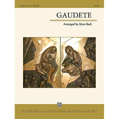 Alfred Gaudete Concert Band Grade 3.5 (Medium) thumbnail