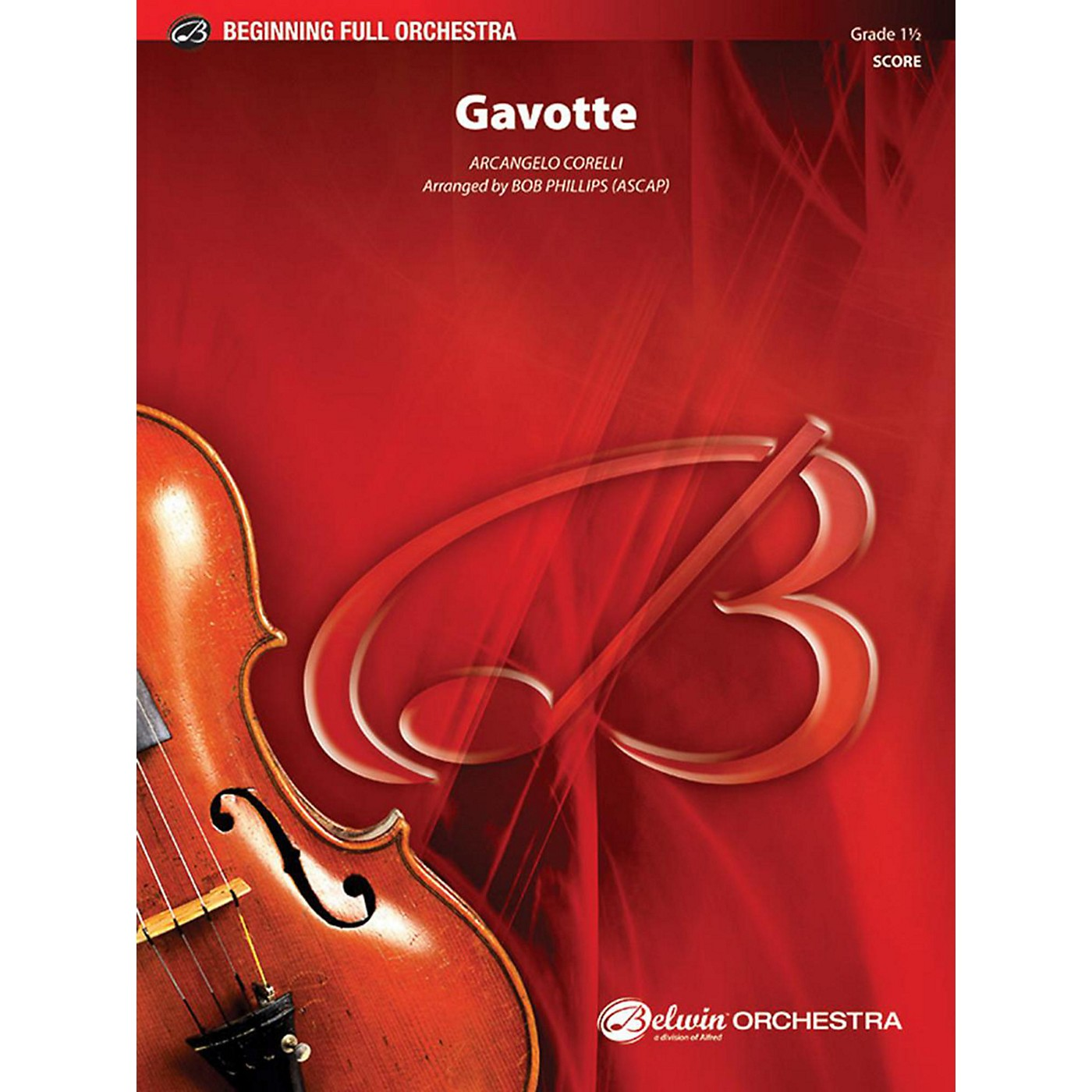 Alfred Gavotte Full Orchestra Grade 1.5 thumbnail