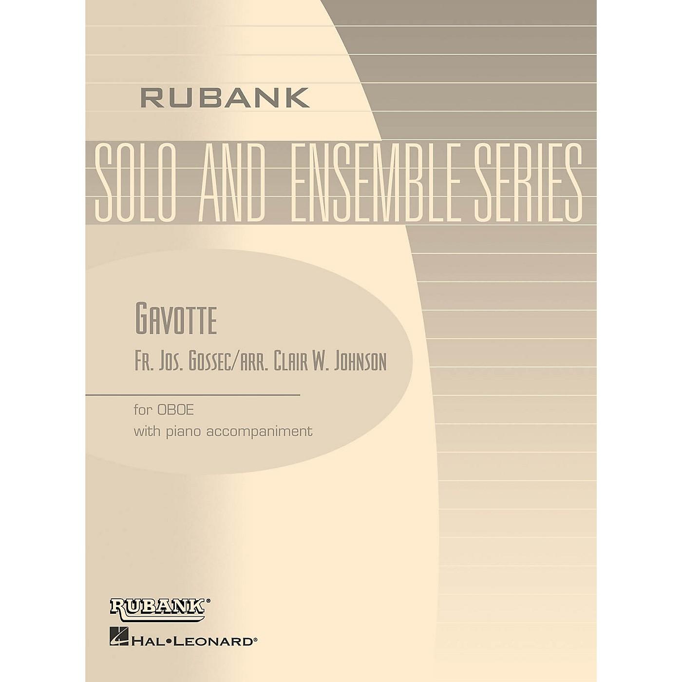 Rubank Publications Gavotte (Oboe Solo with Piano - Grade 1.5 (opt. 2.5)) Rubank Solo/Ensemble Sheet Series thumbnail