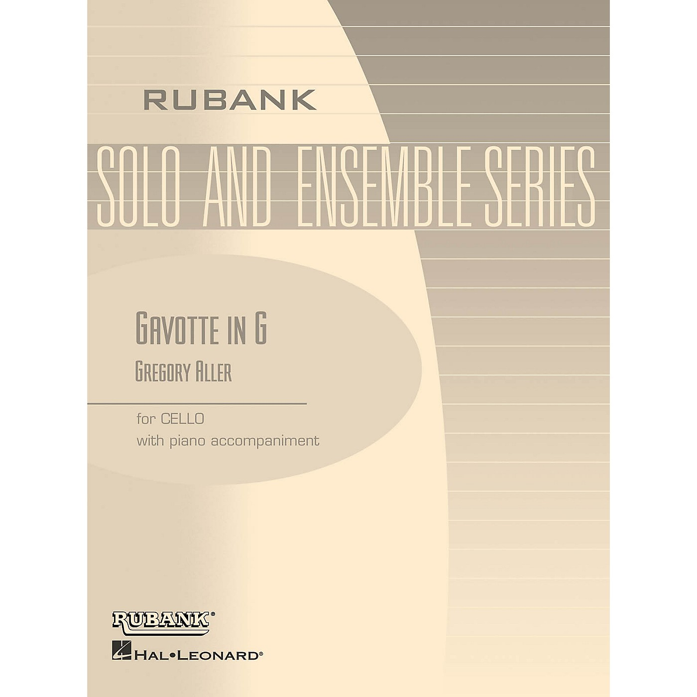 Rubank Publications Gavotte in G Rubank Solo/Ensemble Sheet Series Softcover Arranged by G. Aller thumbnail