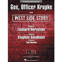 Hal Leonard Gee, Officer Krupke (from West Side Story) Concert Band Level 4 Arranged by Paul Murtha