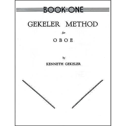 Alfred Gekeler Method for Oboe Book I-thumbnail