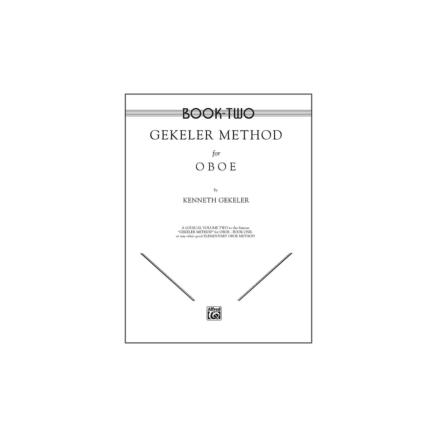 Alfred Gekeler Method for Oboe Book II thumbnail