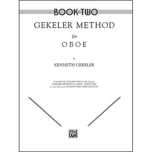 Alfred Gekeler Method for Oboe Book II-thumbnail