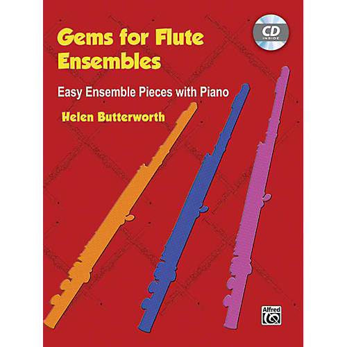 Alfred Gems for Flute Ensembles: Easy Ensemble Pieces with Piano Book & CD thumbnail