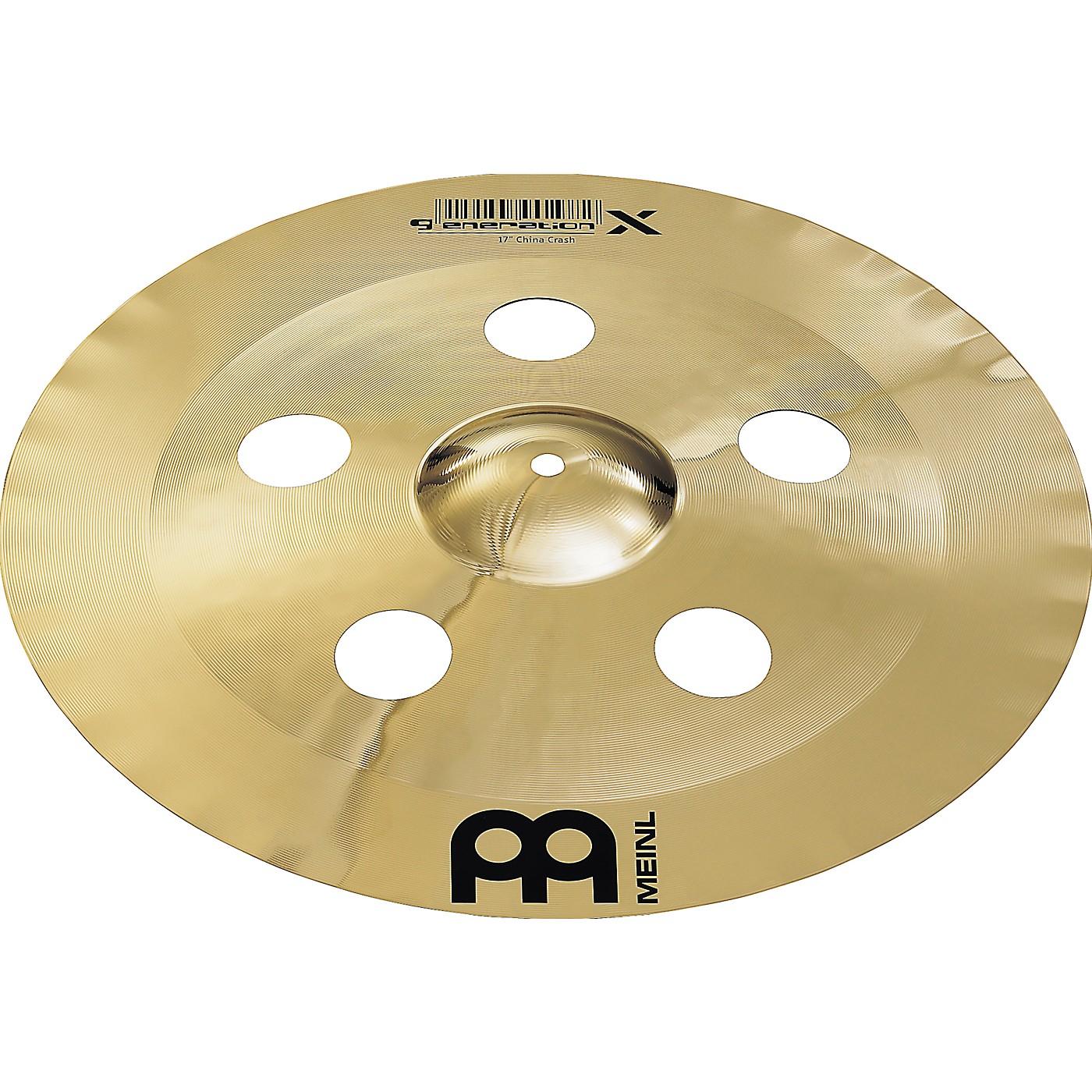 Meinl Generation X China Crash Cymbal thumbnail