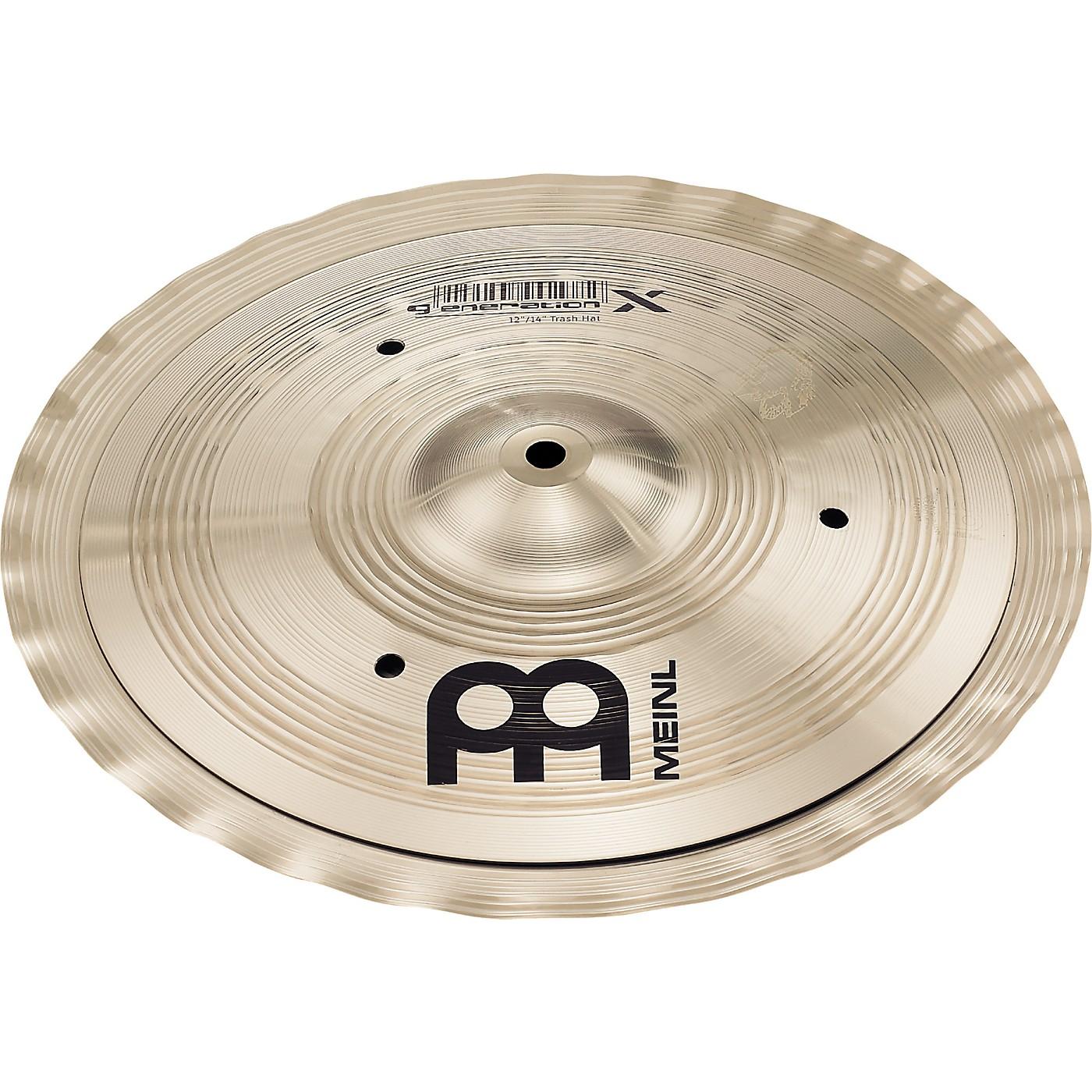 Meinl Generation X Signature Benny Greb Trash Hat Hi-Hat Effects Cymbal thumbnail
