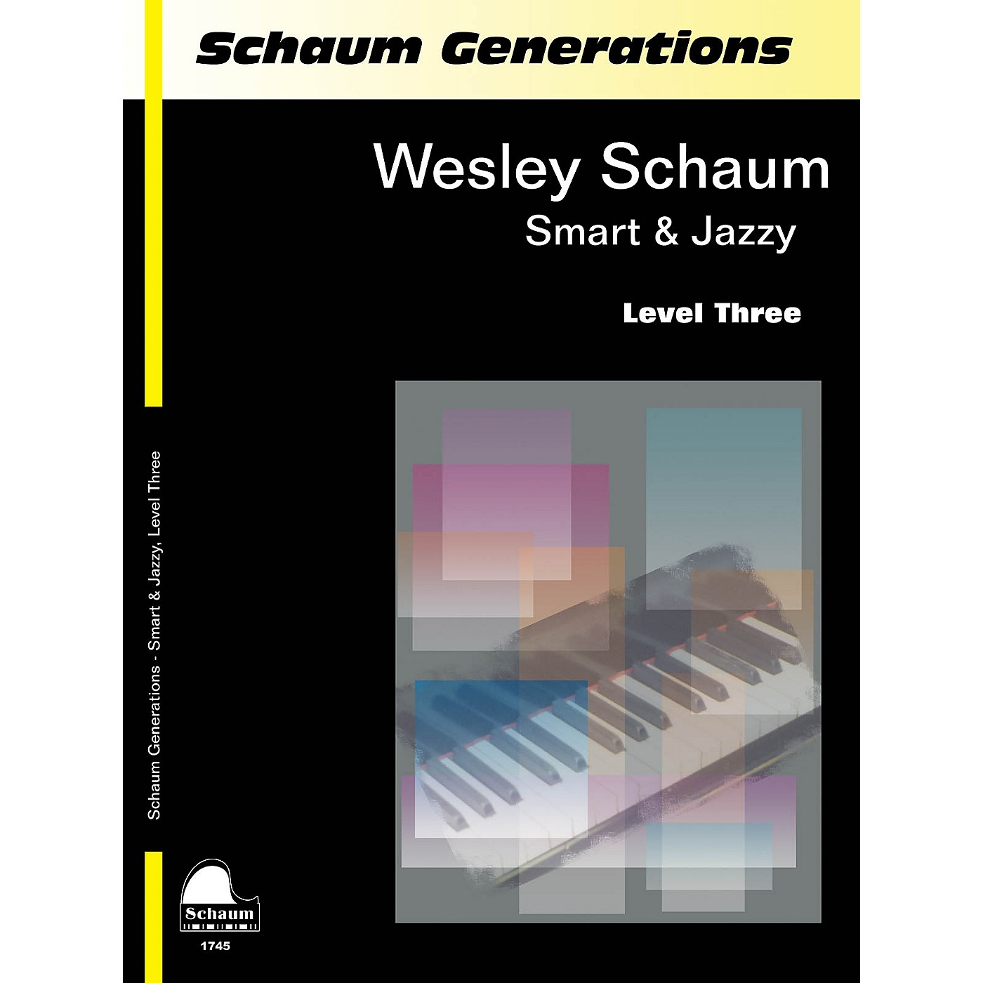 SCHAUM Generations: Smart & Jazzy Educational Piano Book by Wesley Schaum (Level Early Inter) thumbnail