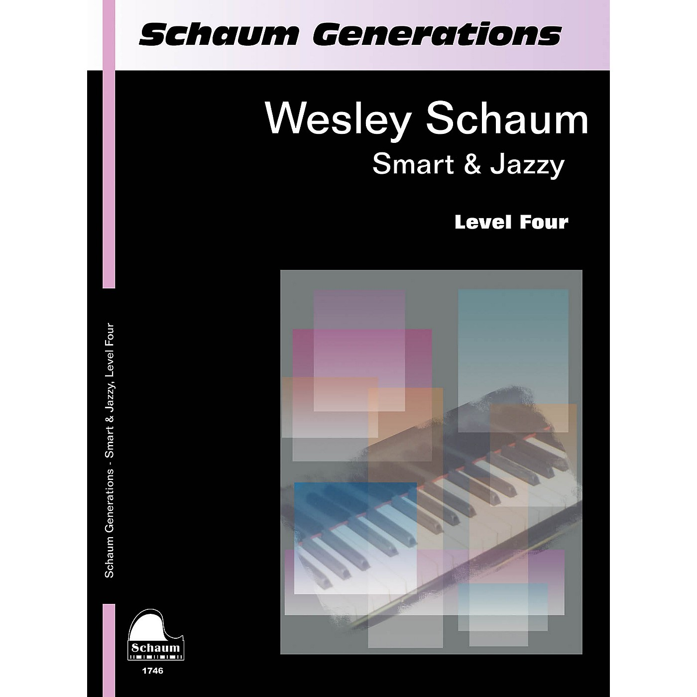 SCHAUM Generations: Smart & Jazzy Educational Piano Book by Wesley Schaum (Level Inter) thumbnail
