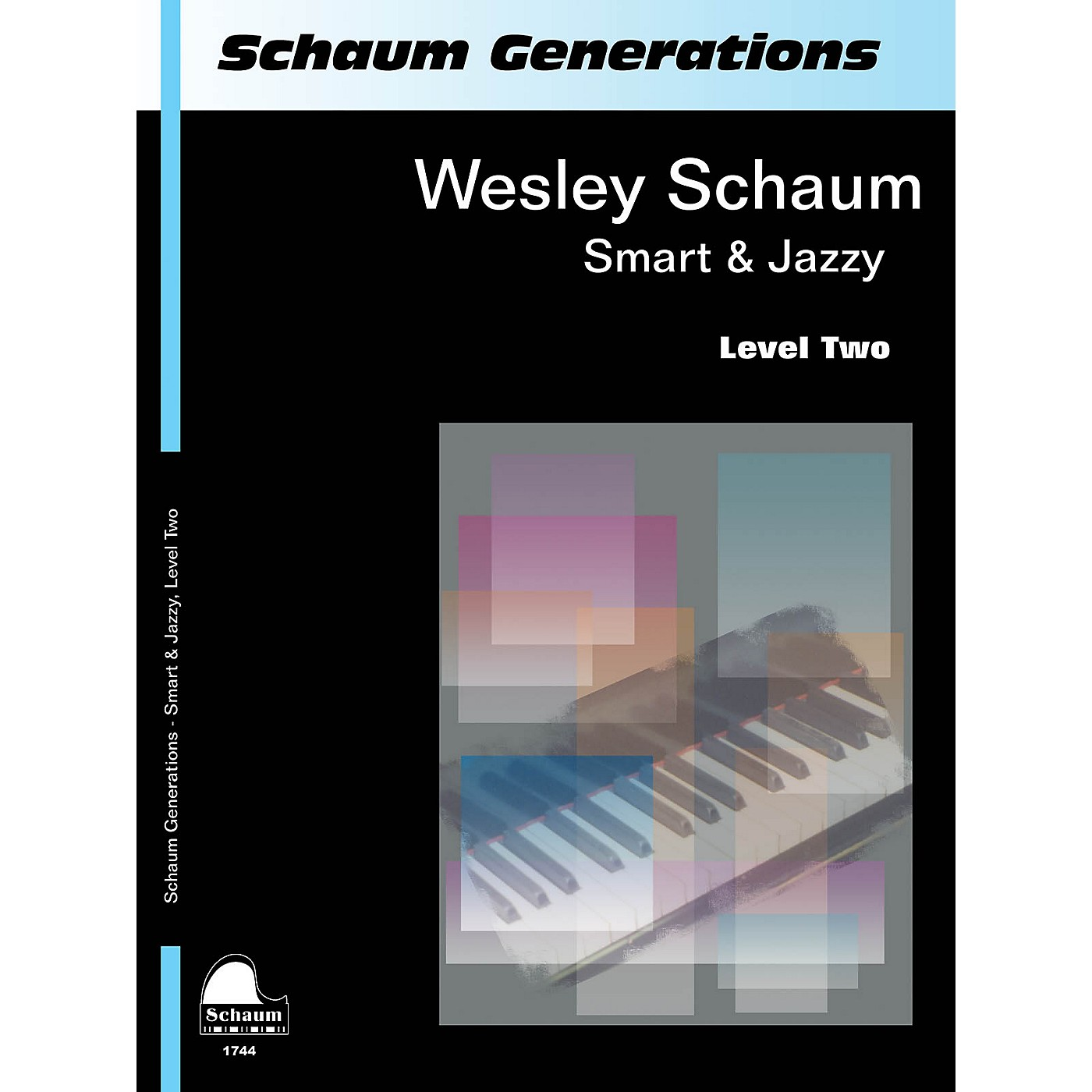 SCHAUM Generations: Smart & Jazzy Educational Piano Book by Wesley Schaum (Level Late Elem) thumbnail