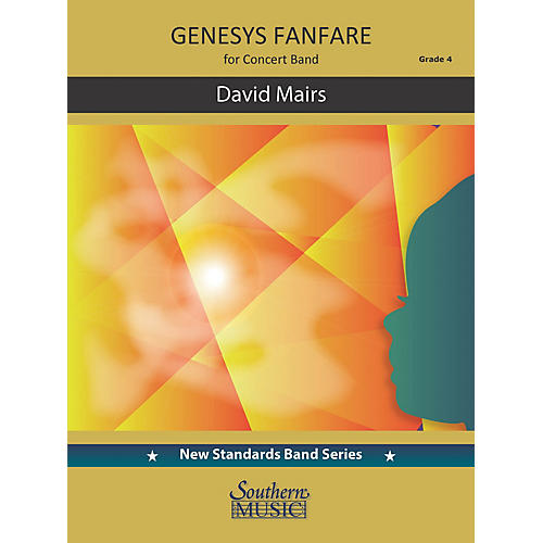 Southern Genesys Fanfare (Score and Parts) Concert Band Level 4 by David Mairs thumbnail