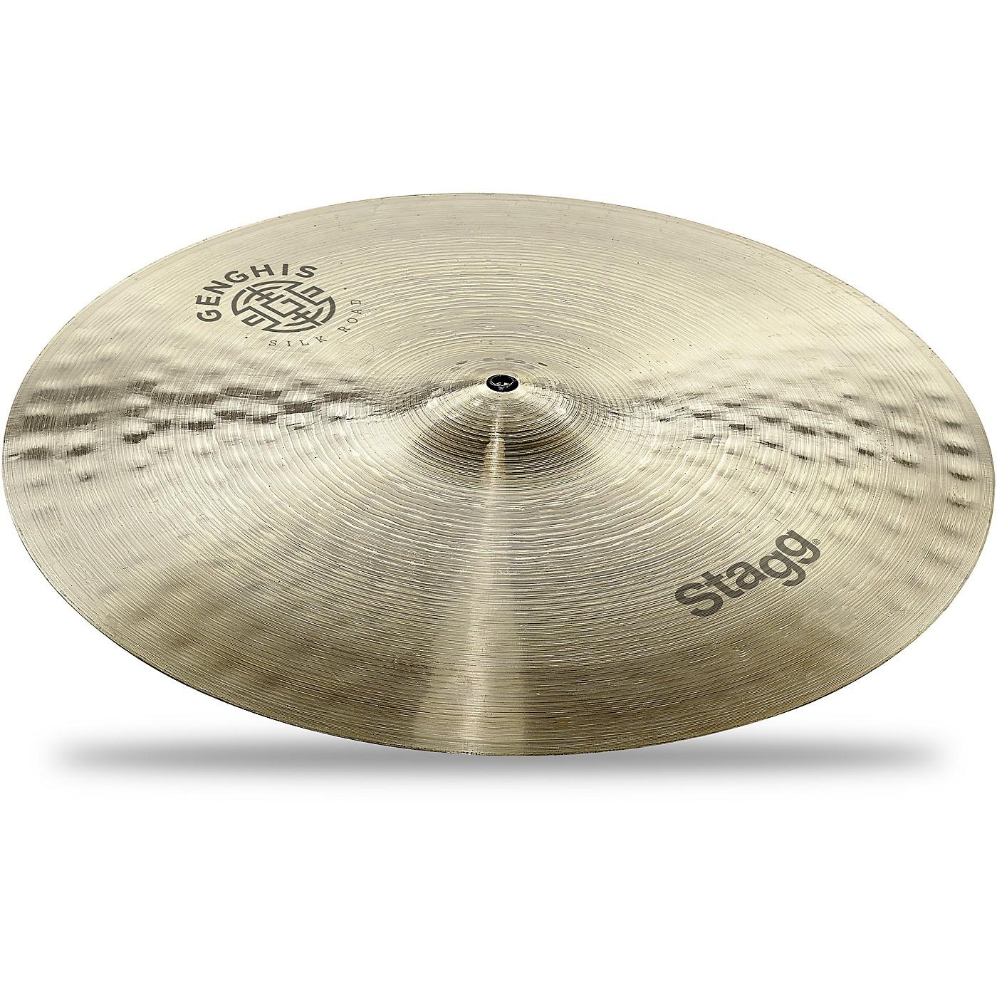 Stagg Genghis Series Medium Crash Cymbal thumbnail