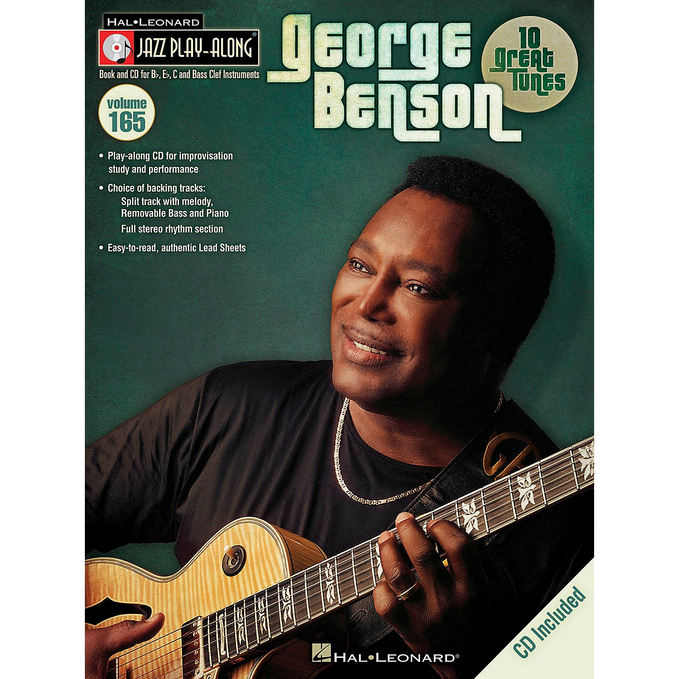 Hal Leonard George Benson Jazz Play Along Series Volume 165 Book/CD thumbnail