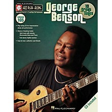 Hal Leonard George Benson Jazz Play Along Series Volume 165 Book/CD